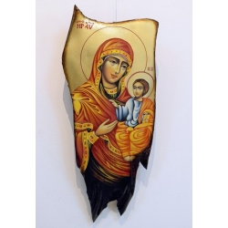 Богородица Одигитрия (Хилендар) - икона от ЧАУШЕВ