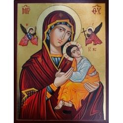 Св. Богородица Одигитрия (с архангели) - икона от РОСЕН