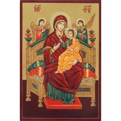 Света Богородица Всецарица - икона от РОСЕН