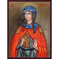Света Фотина Самарянката - икона от РОСЕН