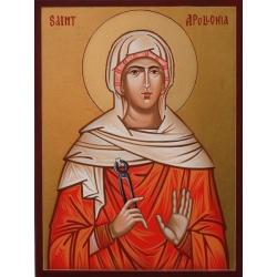 Света Аполония - икона от РОСЕН
