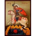 Свети Георги - икона от РОСЕН