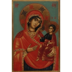 Св. Богородица Одигитрия - икона от НЕНЧЕВИ