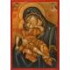 """Св. Богородица """"Сладко Целование""""- икона от Ненчеви"""