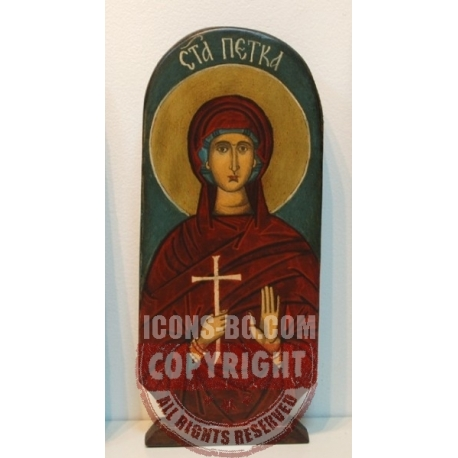 Света Петка (Параскева) - икона от НЕНЧВИ