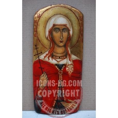 Света Татяна - икона от НЕНЧЕВИ