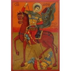 Свети Димитър - икона от НЕНЧЕВИ