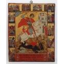 Св. Георги с житийни сцени - икона от НЕНЧЕВИ