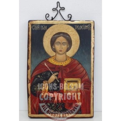 Свети Пантелеймон - икона от НЕНЧЕВИ