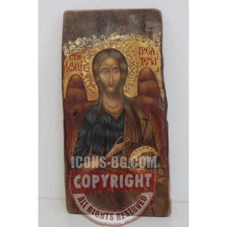 Свети Йоан Предтеча - икона от НЕНЧЕВИ