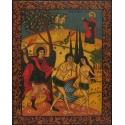 Изгонване на Адам и Ева от Рая - икона от НЕНЧЕВИ