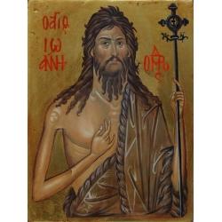 Свети Йоан Кръстител (Предтеча)- икона от АНТОНИЯ