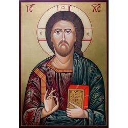 Христос Пантократор- икона рисувана от РОСЕН