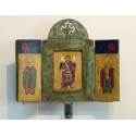 Триптих - Св. Арх.Михаил, Св.Йоан и Св.Никола