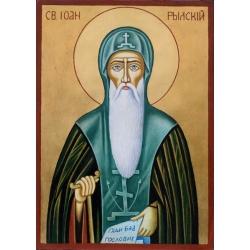 Свети Иван Рилски - икона от ТИНКА