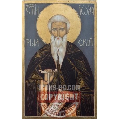 Свети Иван Рилски - икона от НЕНЧЕВИ