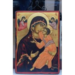 Св. Богородица Умиление - икона от НЕНЧЕВИ