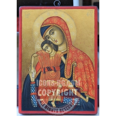 Богородица с Младенеца (Кико) - икона от НЕНЧЕВИ