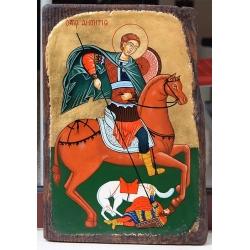 Свети Димитър Солунски - икона от ТИНКА