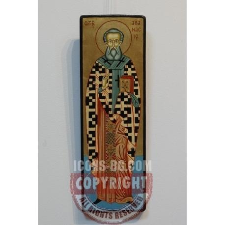 Свети Атанасий Велики - икона от ТИНКА
