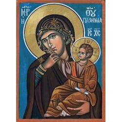 """Св.Богородица """"Отрада"""" -икона от АНТОНИЯ"""