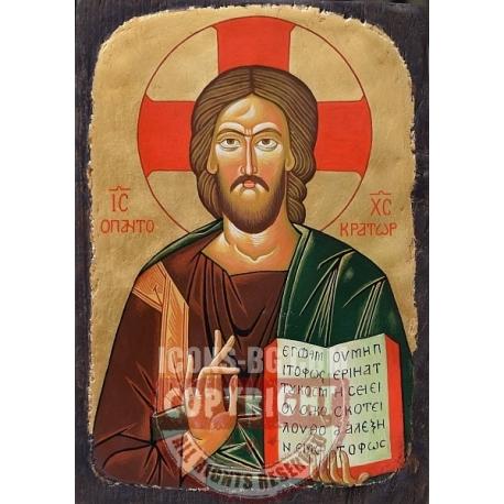 Христос Пантократор - икона от ТИНКА