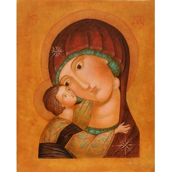 "Св. Богородица ""Умиление"" - икона от ЮЛИЯ"