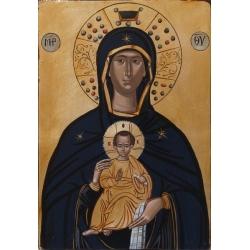 """Света Богородица """"Никопея"""" (Победоносна)- икона от АНТОНИЯ"""