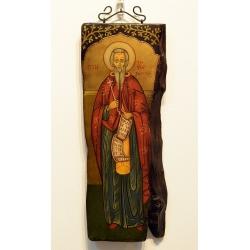 Свети Иван Рилски - икона от Георги НЕНЧЕВ