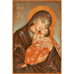 """Икона на Богородица """"Умиление"""" - от Юлия СТАНКОВА"""