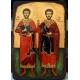 Св.Теодор Тирон и св.Теодор Стратилат - икона от Тинка