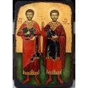 Св.Теодор Тирон и Св. Теодор Стратилат - икона от ТИНКА