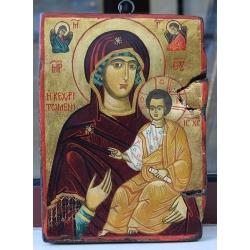 Св. Богородица с Младенеца Преблагодатна - икона от НЕНЧЕВИ