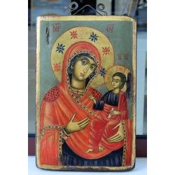 Св. Богородица с Младенеца Пътеводителка - икона от НЕНЧЕВИ