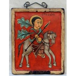 Свети Георги - коптска икона от НЕНЧЕВИ