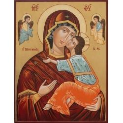 Св. Богородица Умиление (Несебър) - икона от РОСЕН