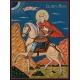 Свети Мина на кон - икона от РОСЕН