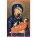Св. Богородица Одигитрия (Ватопед) - икона от НЕНЧЕВИ