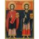 Св.Св. Безсребърници Козма и Дамян - икона от НЕНЧЕВИ