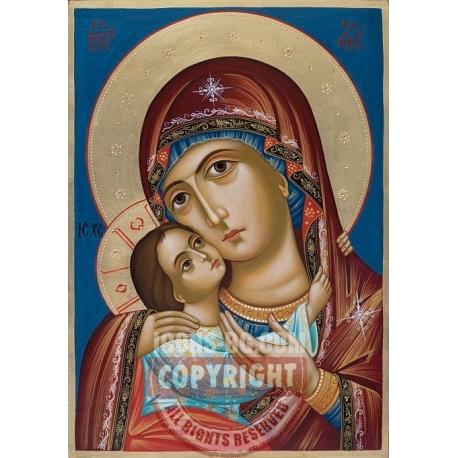 Богородица Умиление (Рилска) - икона от ЕМИЛИЯ