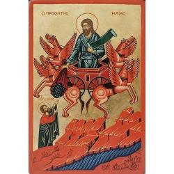 Възнесение на св. пророк Илия - икона от Тинка