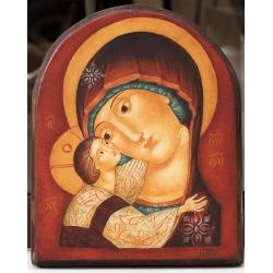 """Пресв. Богородица с Младенеца """"Умиление"""" - икона от ЮЛИЯ"""