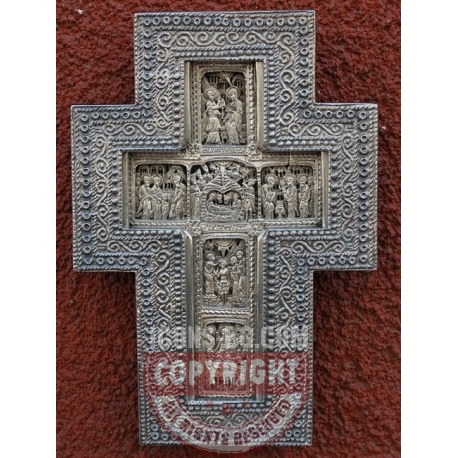 Рафаилов кръст - посребрен обков от МИХАЛЕВ