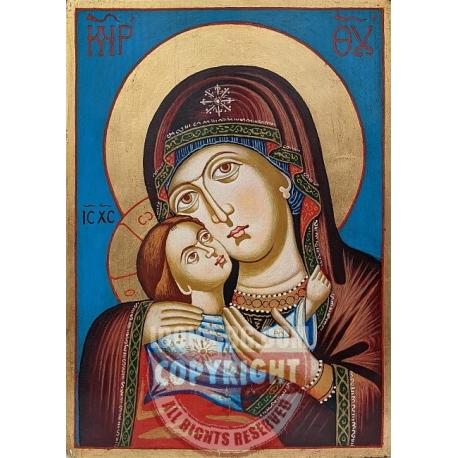 """Св. Богородица """"Умиление""""(Рилска)- икона от ТИНКА"""