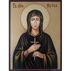 Св. мчца. Петка - икона от РОСЕН