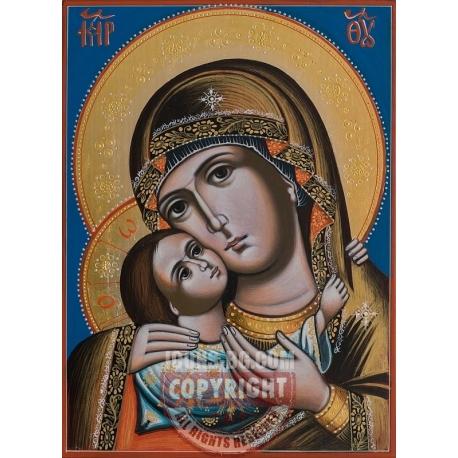 Пресв. Богородица с Младенеца (Рилска)