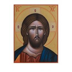 Христос Пантократор- икона от ИВА, 16x12см