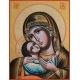 """Света Богородица """"Рилска"""" (златен фон)"""