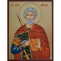 Св. вмчк. Мина - икона от РОСЕН