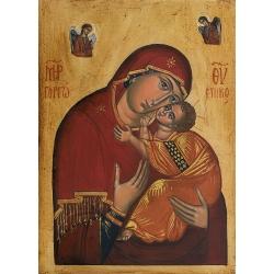 Богородица Елеуса (Несебърска)- икона от АНТОНИЯ